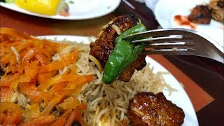 AFGHANI DINNER    আফগানিস্তানি রেস্টুরেন্টে ডিনার    Little India in America.