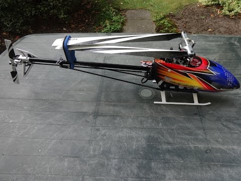 Align T Rex 470LM Dominator, ready for first hover ! :-)