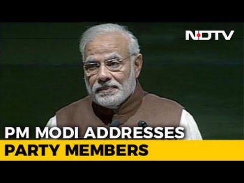 watch PM Narendra Modi's Speech At BJP Parliamentary Meet