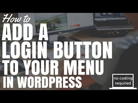 Xxx Mp4 How To Add A Login Button To Menu In Wordpress No Coding Required 3gp Sex