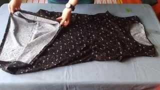 DIY Kolay Yazlık Elbise Ölçü Kalıp Kulanmadan