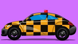 Kids TV Channel | Follow Me Car | vehicle assembly  | Futuristic Vehicles | Educational Video