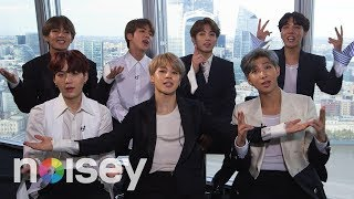 BTS on Having No Friends, Drake and Pokemon - The Noisey Questionnaire of Life