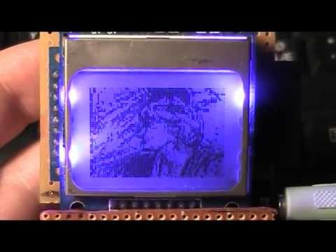 A ha Take on Me video playback on Arduino at 20 fps with instructions