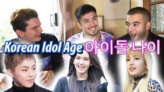 Guessing Korean Idol Age / 아이돌 나이 맞추기