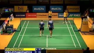R32 - MD - M.JONGJIT / N.PUANGPUAPECH vs V.IVANOV / I.SOZONOV - 2014 Malaysia Badminton Open