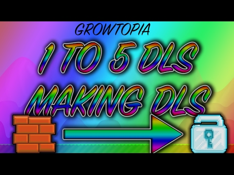 Growtopia - 1 TO 5 DLS. EP: 4. SELLING MY BRICK SEEDS FOR WLS !!!!!!