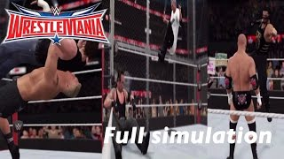 WWE 2K16 SIMULATION: Wrestlemania 32 Full Show Highlights