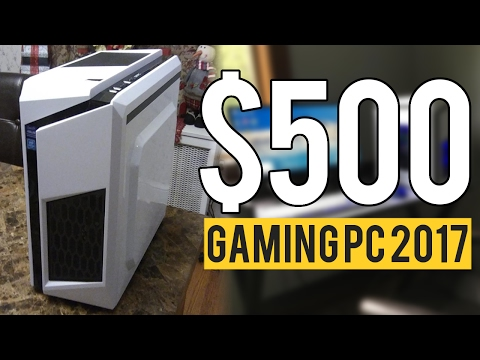 Build a 500 CONSOLE KILLER Gaming PC for 2017 Intel Kaby Lake