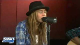 Miley Cyrus - The Climb (Acoustic) | Performance | On Air With Ryan Seacrest