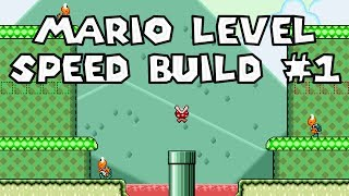 Mario Level Speed Build #1 - Minty Marshes