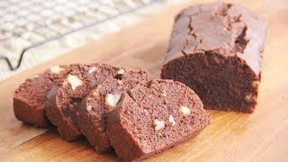 Eggless Chocolate Walnut Cake 无蛋巧克力核桃蛋糕