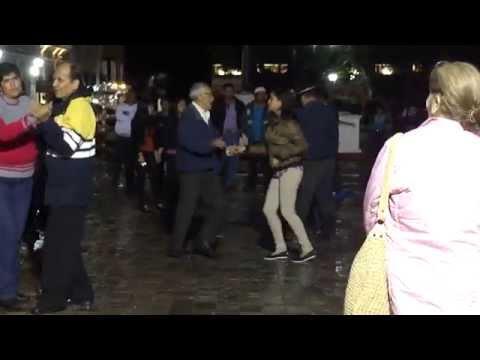 Baile en Comitán Parque Central.