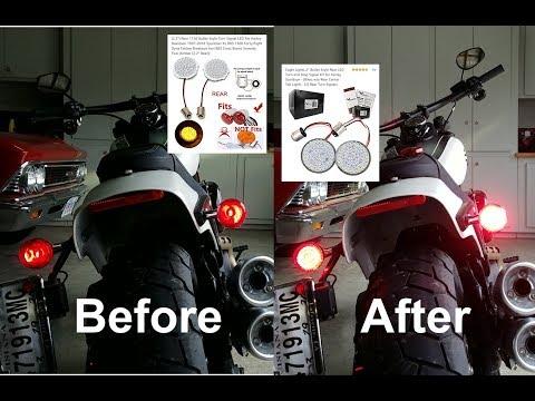Download Lagu Harley Davidson LED light upgrade 2018 FatBob 1156/1157 MP3