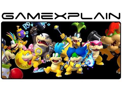 All Koopaling, Bowser Jr, & Bowser Boss Fights in New Super Mario Bros. U (Wii U Gameplay Spoilers!)