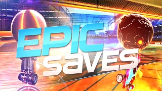 ROCKET LEAGUE EPIC SAVES ! (BEST SAVES BY COMMUNITY & PROS)