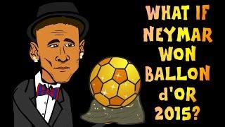 If NEYMAR had won The Ballon d'Or 2015! (Awards Highlights Part 3)