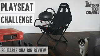 Playseat Challenge review - is a foldable chair any better than a wheel stand? (4K)