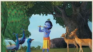 Krishna's flute plays a soft, Magical Lullaby