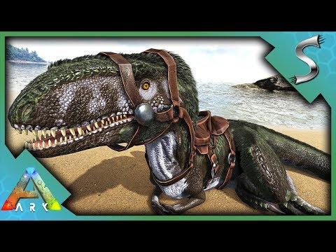MEGALOSAURUS CAVE TAMING! BABY BREEDING & IMPRINT | NOCTURNAL MOUNT! | Ark: Survival Evolved [S2E75]