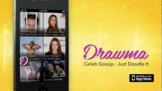 Drawma App: Celebrity Gossip + Doodle Share for iPhone