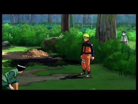 Konohamaru stalks Naruto 😆 - Naruto disappoints Ebisu and Konohamaru - Naruto Shippuden Storm 3