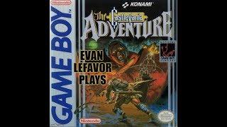 Evan Lefavor Plays Castlevania The Adventure Blind Full Playthrough - GameBoy