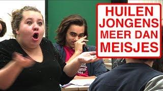 HUILEN JONGENS MEER DAN MEISJES?!