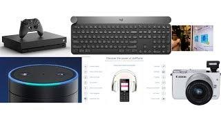 AR   Logitech Keyboard   Amazon Echo   Canon M100 📸 💥💥