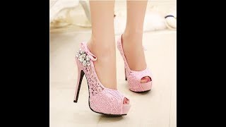HIGH HEEL SANDALS FOR GIRLS, LATEST FOOTWEAR FOR LADIES