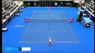 Margarita Gasparyan v Johanna Larsson full match (2R) | Hobart International 2016