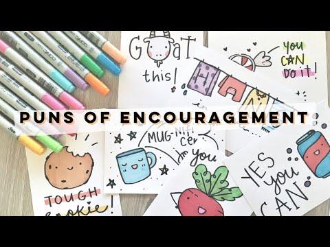 Xxx Mp4 Puns Of Encouragement Doodles By Sarah 3gp Sex