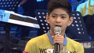 Brace, Joaquin, Grae & John show their singing prowess in The Singing Bee