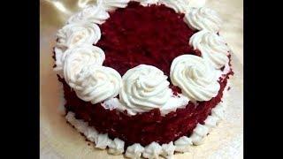 চুলায় তৈরী রেড ভেলভেট কেক/RED VELVET CAKE WITHOUT OVEN COMPLETE STEP BY STEP/Redvelvet Cake RB