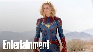 'Captain Marvel' First Exclusive Images With Brie Larson & Samuel L. Jackson | Entertainment Weekly