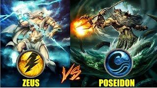 God of war ascension: ZEUS vs POSEIDON