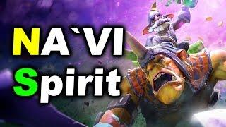 NAVI vs SPIRIT - EU Quals - SL i-League Invitational 2 DOTA 2