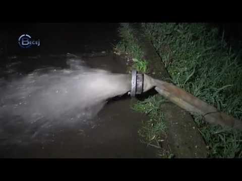 TV BEČEJ: Ekstremna količina padavina poplavila Bečej