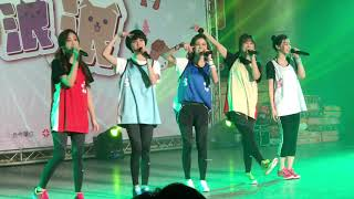20171210 MTV X Popu Lady 聖誕愛浪浪 泡泡糖愛心運動會 演唱Part1