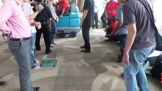 Klenco tennant R14 Deep Cleaning Ride on Carpet Extractor @Ngurah rai International Airport Bali