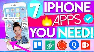 7 iPhone Apps For SCHOOL That Will CHANGE Your Life!