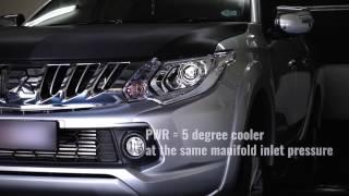 Mitsubishi Triton MQ Diesel 2015-onwards PWR Intercooler + Pipe Kit