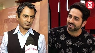 Nawazuddin Demands Freedom Of Expression  Ayushmann Excited For 'Bareilly Ki Barfi