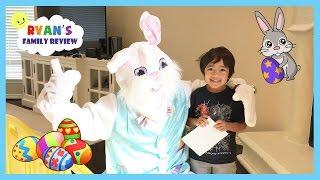 Easter Bunny visits Ryan