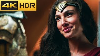 Bruce Wayne & Diana Prince   Justice League 4k HDR