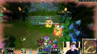 Chauster and Doublelift Travel to Bronze (Highlights)