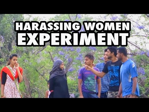 Harassing women in public || India || Social Experiment