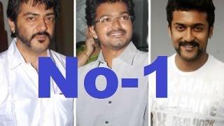 Ajith No 1 In The Tamil cinema ! TV Channel Survey Results | Vijay - entertamil.com