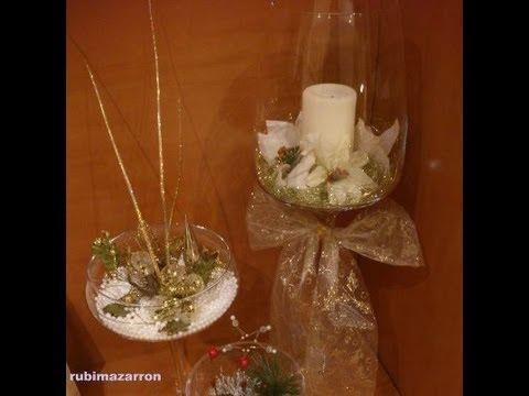 Como hacer un centro de mesa floral especial navidad - Mesas decoradas para navidad ...