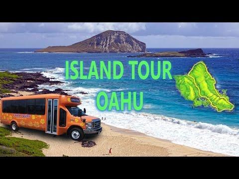 Oahu, Hawaii - Around The Island Tour 2016 4K